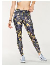 Without Walls - Floral Ikat Legging - Lyst