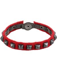 Paolo Pecora Bracelet - Red