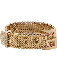 Aurelie Bidermann Belt Bracelet - Lyst