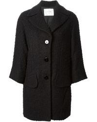 Dondup Textured Coat - Lyst