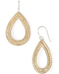 Anna Beck - 'timor' Open Teardrop Earrings (nordstrom Exclusive) - Lyst