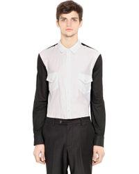 Perdre Haleine Cotton Muslin & Poplin Shirt - Lyst