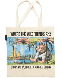 Out Of Print / Apsco Bookshelf Bandit Tote in Max - Lyst