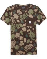Wesc Leaves Pocket T-shirt - Lyst