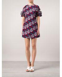 Thakoon Bare Shoulder Mini Dress - Lyst
