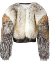 Givenchy Fox Fur Bolero - Lyst