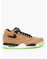 Nike Flight Squad Cork Sneakers beige - Lyst