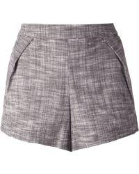 Sam & Lavi - Pleat Detail Shorts - Lyst