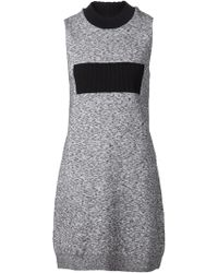 Paco Rabanne Knitted Dress - Lyst