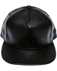 Crooks and Castles - The Scorch Vegan Leather Strapback - Lyst