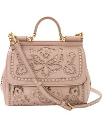Dolce & Gabbana Miss Dolce Small Top Handle Bag - Lyst