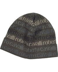 Roberto Cavalli - Signature Print Wool Blend Men S Hat - Lyst eacb8a046a49