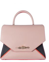 Givenchy Tricolor Leather Small Obsedia Bag black - Lyst