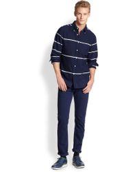 Gant Rugger Cotton Stripe Sportshirt - Lyst