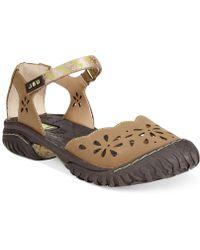 Jambu Jbu Maya Flat Sandals - Lyst