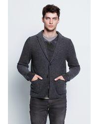 Zadig & Voltaire Man Jacket Billy Bw - Lyst
