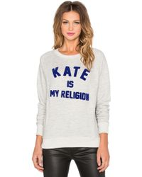 ELEVEN PARIS - Kate Is My Religion Pullover - Lyst