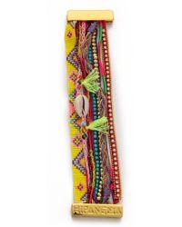 Hipanema - Paradise Bracelet Yellow Multi - Lyst