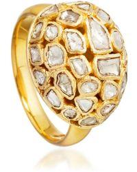 Pippa Small - Precious Diamond Egg Ring - Lyst