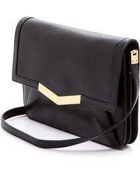 Time's Arrow Affine Small Shoulder Bag Black - Lyst