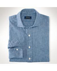 Polo Ralph Lauren Chambray Sport Shirt - Lyst
