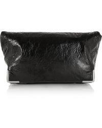Alexander Wang Prisma Coated Leather Fold-over Clutch - Lyst