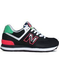 New Balance Lace Up Sneaker - Women'S 574 - Lyst