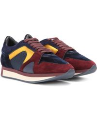 Burberry Brit - Suede Trainers - Lyst