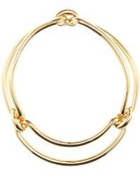 Balenciaga Gold-toned Necklace - Lyst