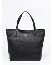 Patrizia Pepe Leather Shopper - Lyst