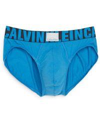 Calvin Klein Jersey Logo Briefs - Lyst