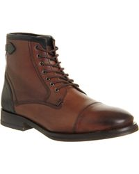 Ted Baker Brown Comptan Boot - Lyst