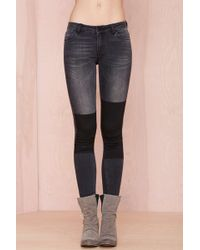 Nasty Gal Just Female Play On Jeans  - Lyst