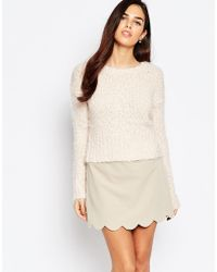 AX Paris - Jumper In Mix Knit - Lyst