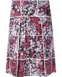 Timo Weiland - Floral Print Skirt - Lyst
