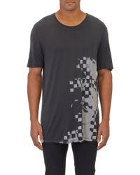 Alexander Wang Pixelated Face T-shirt - Lyst
