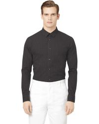 Calvin Klein Patterned Buttondown Shirt - Lyst