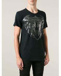 Balmain Printed T-shirt - Lyst
