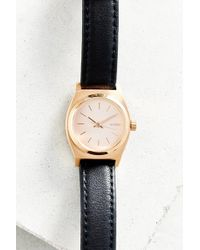 Nixon Time Teller Leather Watch - Lyst