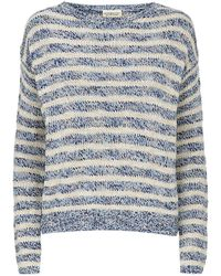 Denim & Supply Ralph Lauren - Stripe Fine Knit Sweater - Lyst