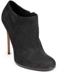 Haider Ackermann Leather Stiletto Ankle Boots - Lyst