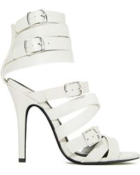 Nasty Gal Shoe Cult Hold Me Tight Heel - Lyst