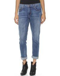True Religion Audrey Slim Boyfriend Jeans  - Lyst