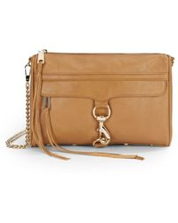 Rebecca Minkoff Mac Leather Crossbody Bag - Lyst