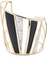 Alexis Bittar | Spoked Color Blocked Cuff | Lyst