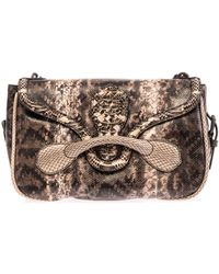 Bottega Veneta Rialto Snakeskin Shoulder Bag - Lyst