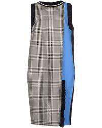 Emanuel Ungaro Knee-Length Dress blue - Lyst
