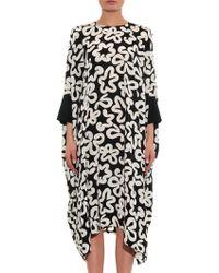 Issa May Printed Silk Kaftan Dress - Lyst