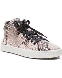 Rag & Bone Kent High Top Leather Sneakers - Lyst