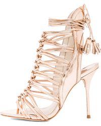 Sophia Webster Lacey Leather Heels - Lyst